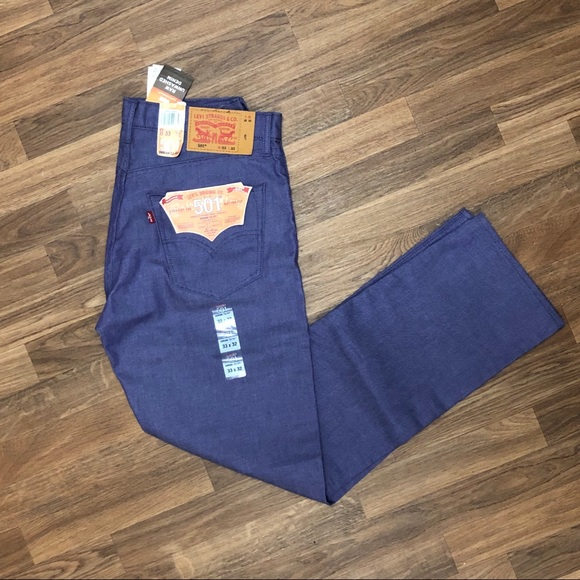 Levi's Other - 🆕🔥 Levi's 501 Shrink to Fit Jeans Purple Mens 33